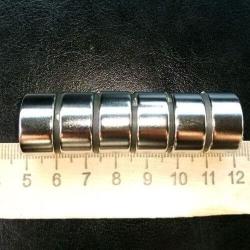 Неодимовый магнит 20х10 мм