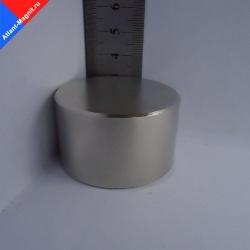 Неодимовый магнит диск 50х30 мм