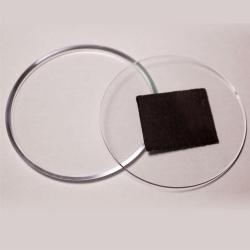 Акриловая заготовка с магнитом 56 мм (круглая)
