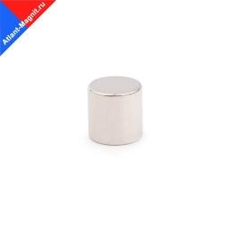 Неодимовый магнит диск 10х10 мм