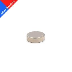 Неодимовый магнит диск 10х3 мм