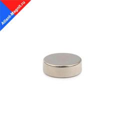 Неодимовый магнит диск 12х5 мм