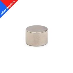 Неодимовый магнит диск 15х10 мм