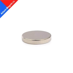 Неодимовый магнит диск 25х5 мм