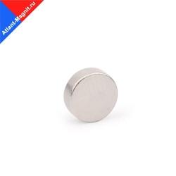 Неодимовый магнит диск 6х3 мм