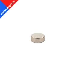 Неодимовый магнит диск 8х3 мм