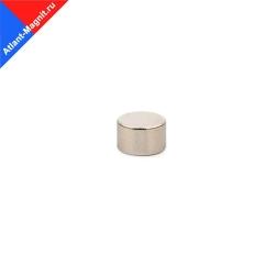 Неодимовый магнит диск 8х5 мм