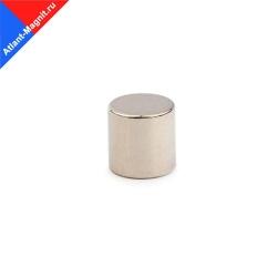Неодимовый магнит диск 9х8 мм