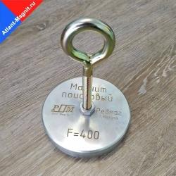 Односторонний поисковый магнит F400 (Редмаг)