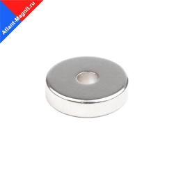 Магнит неодимовый кольца 20x5x5 мм