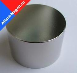 Неодимовый магнит диск 70х50 мм