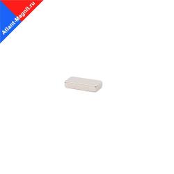 Неодимовый магнит призма (прямоугольник) 10х5х2 мм