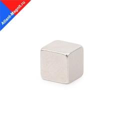 Неодимовый магнит призма (прямоугольник) 15х15x15 мм