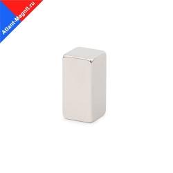Неодимовый магнит призма (прямоугольник) 20х10x10 мм