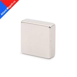 Неодимовый магнит призма (прямоугольник) 20х20x5 мм