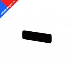 Неодимовый магнит призма (прямоугольник) 20х6x2 мм