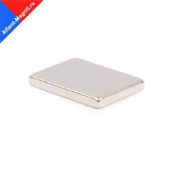 Неодимовый магнит призма (прямоугольник) 24х18x3 мм