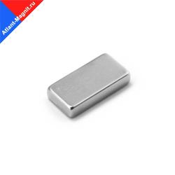 Неодимовый магнит призма (прямоугольник) 30х10x3 мм