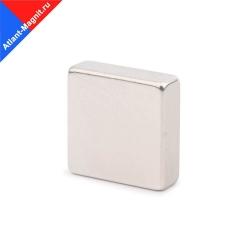 Неодимовый магнит призма (прямоугольник) 30х30x5 мм