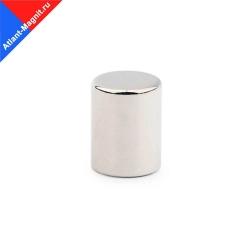 Неодимовый магнит стержень (пруток) 10х15 мм