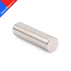 Неодимовый магнит стержень (прут) 10х40 мм