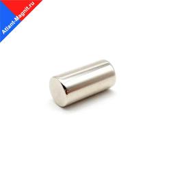 Неодимовый магнит стержень (пруток) 5х8 мм