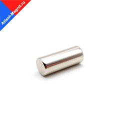 Неодимовый магнит стержень (пруток) 8х20 мм
