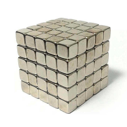 Квадрокуб 5 мм (125 шт кубиков)